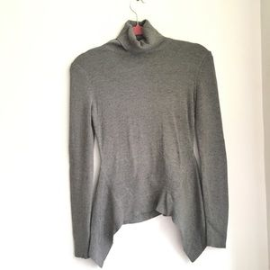 Kenneth Cole Gray Turtleneck sweater